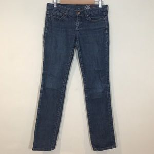 Gap medium wash straight leg jeans
